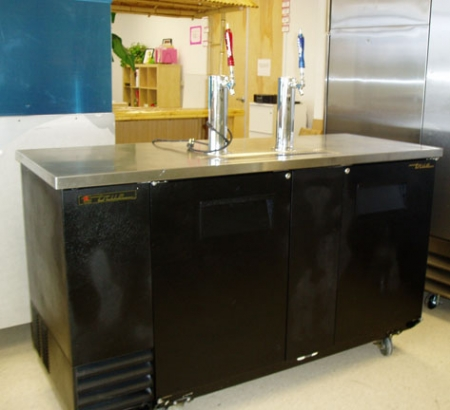Used True Kegerator For Sale Direct Tap One Fat Frog