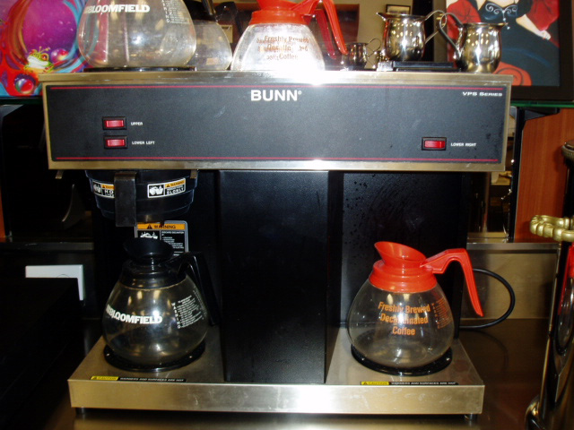 BUNN VPS Series Coffee Maker One Fat Frog