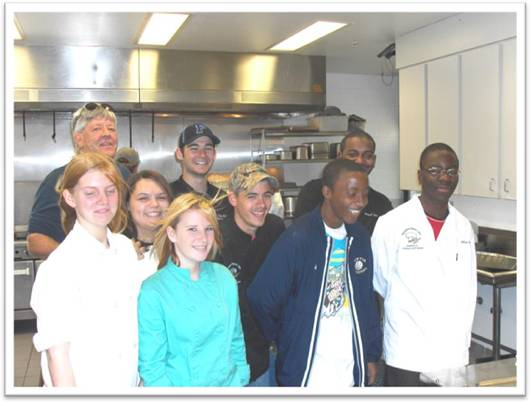 Eustis Culinary Arts Students