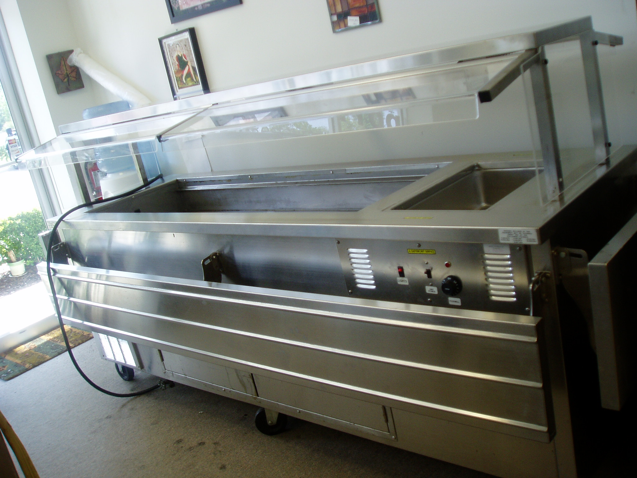 Salad Bar Buffet With Steam Well Perfect For Hotels Restaurants