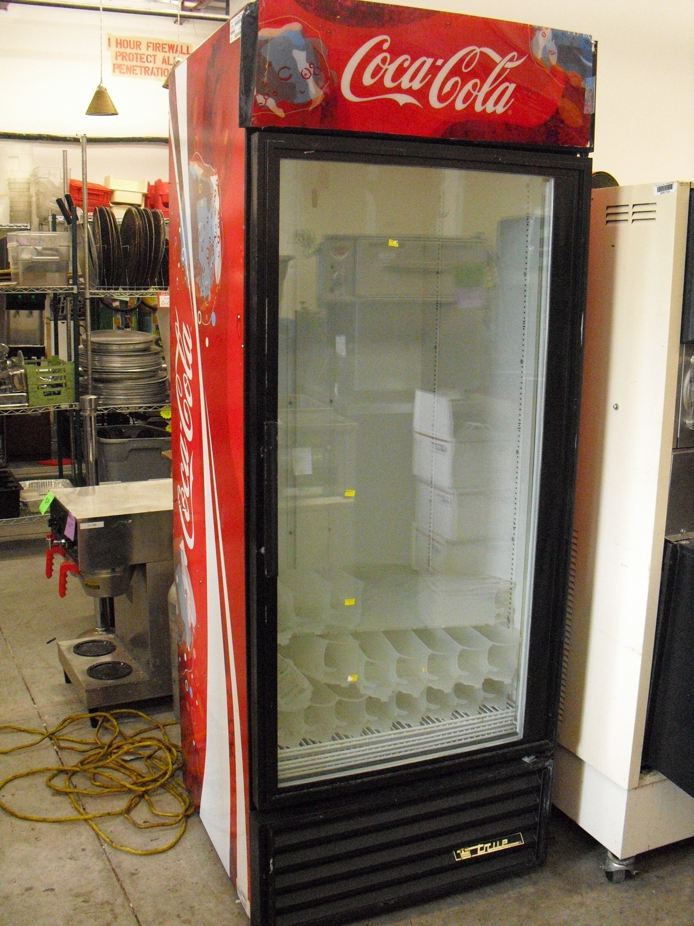 Single Glass Door Coolers True And Beverage Air Used
