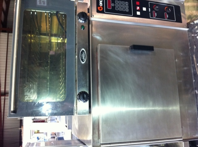 countertop cadco convection oven electric + Groen steamer for sale ...