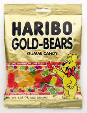 German Haribo Gummi Bears Amp Swear Words One Fat Frog