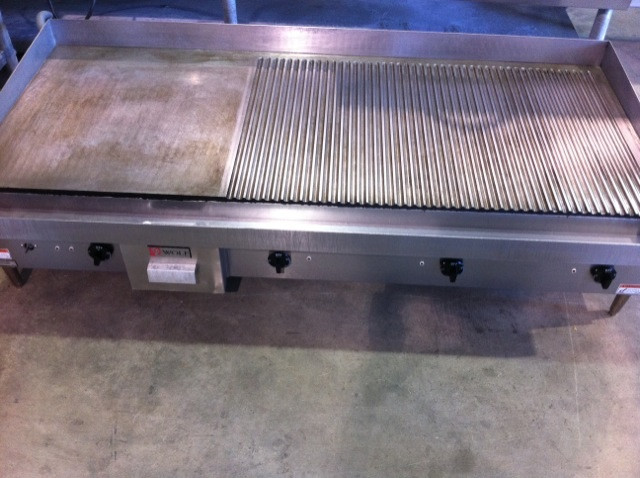 Combination Wolf Griddle Charbroiler For Sale Orlando
