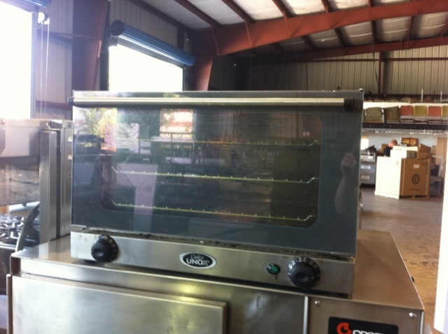 Cadco convection oven electric countertop used for sale One Fat Frog