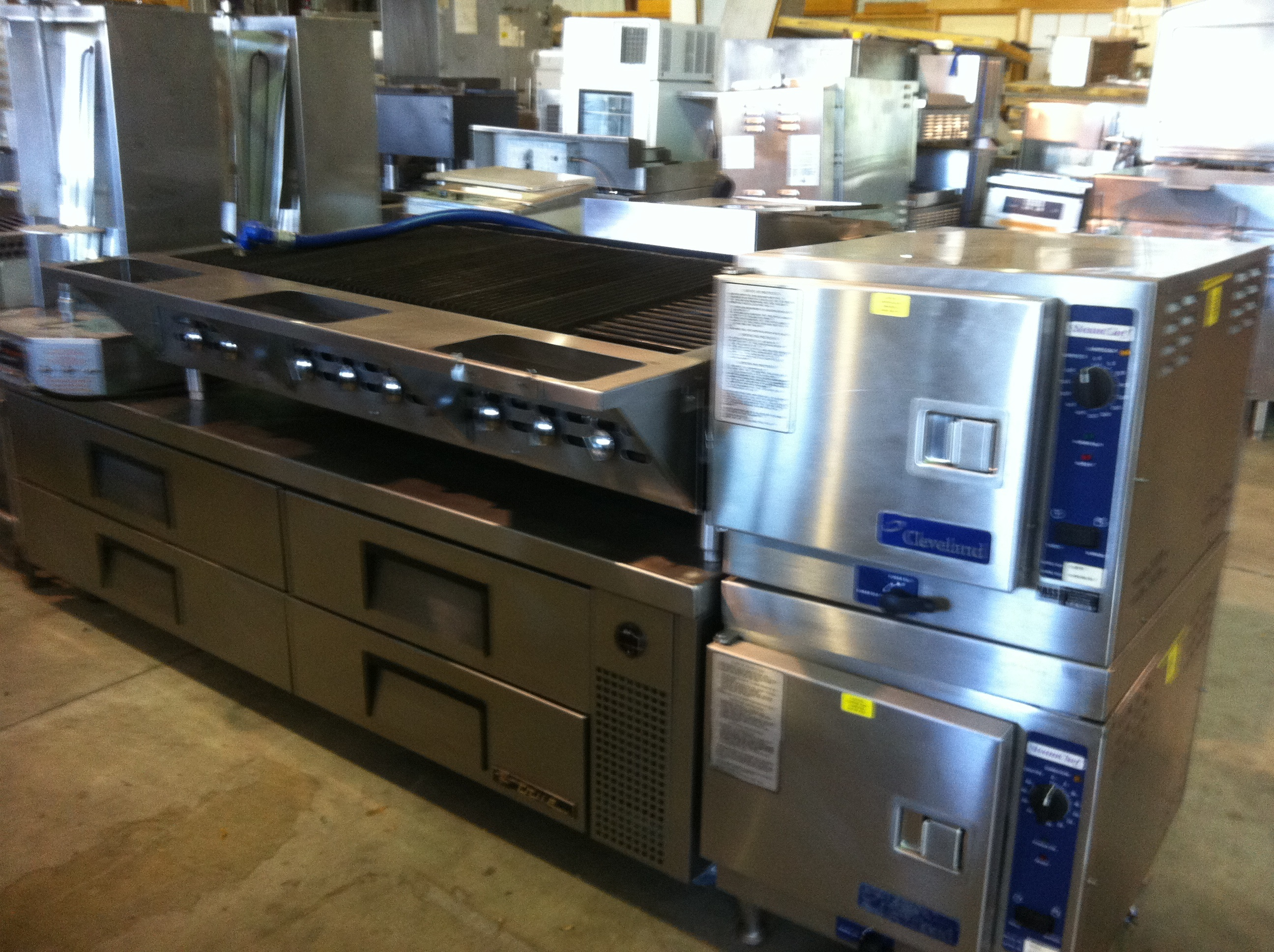 Truckloads Of Used Restaurant Equipment Just Arrived
