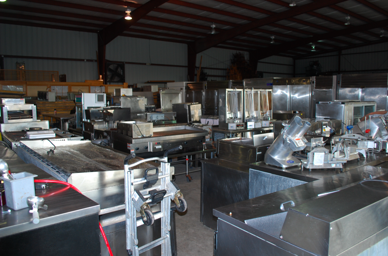 Yes more used restaurant equipment came in one fat frog