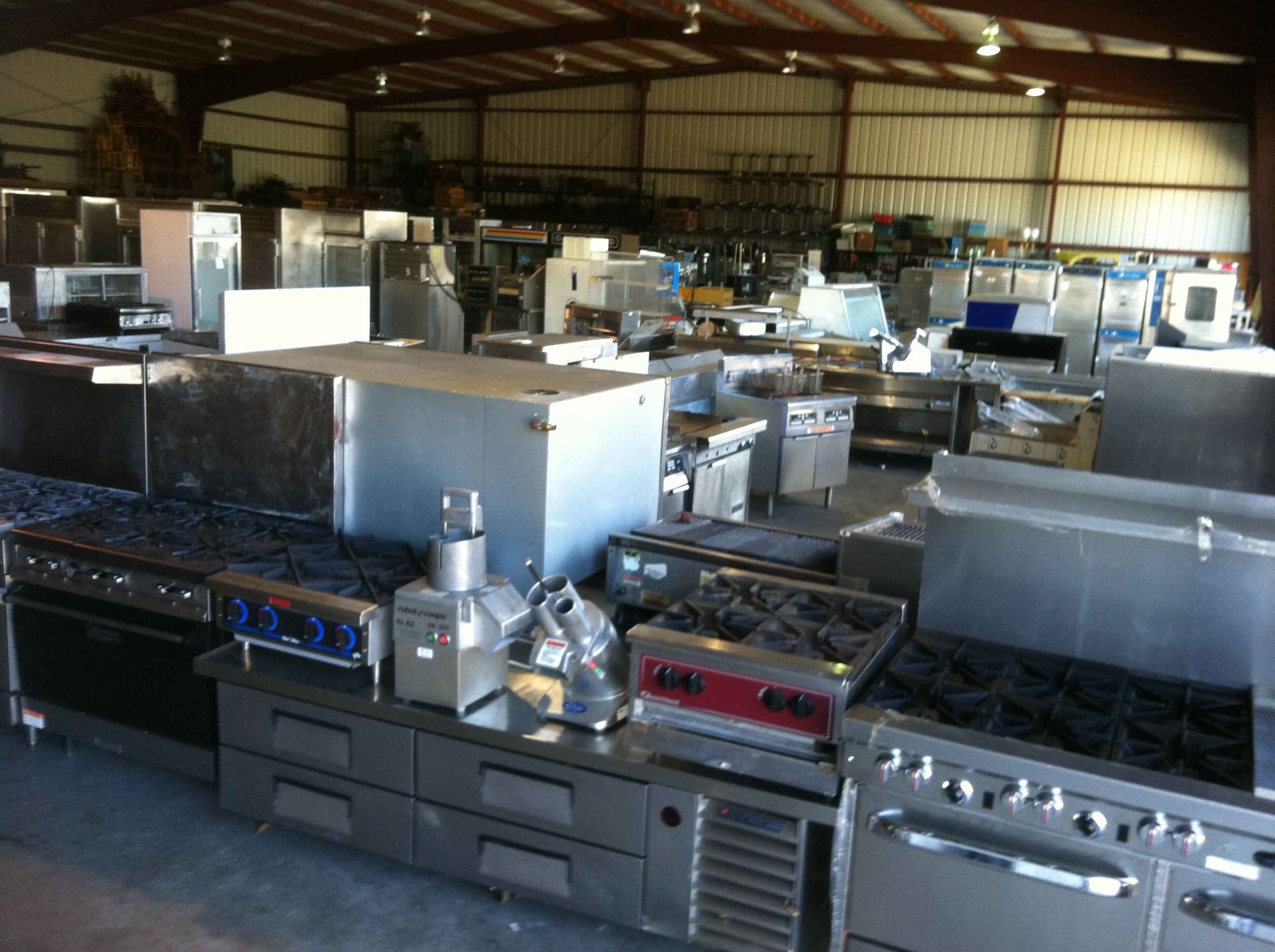 ice commercial foodservice restaurant kitchen used equipment