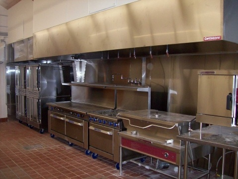 Faq definition commercial kitchen cooking station versus for Equipement cafe