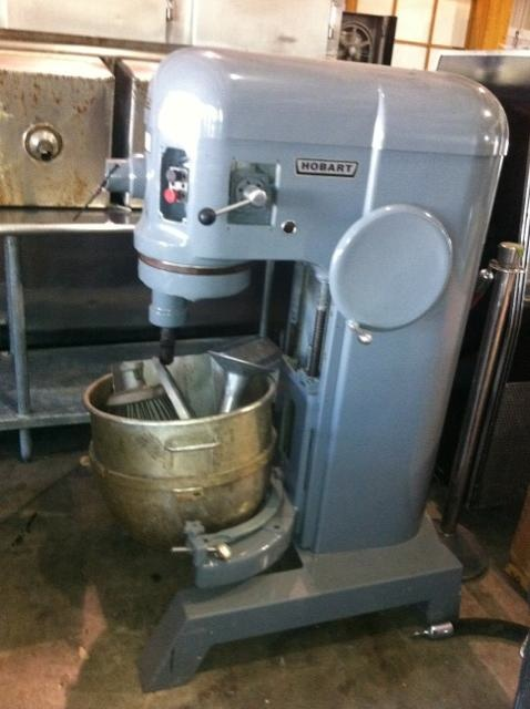 Sold Used Hobart Dough Mixer With A Fresh Coat Of Paint