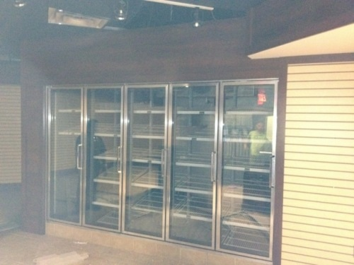 5 door walk in cooler for sale bar or convenience store