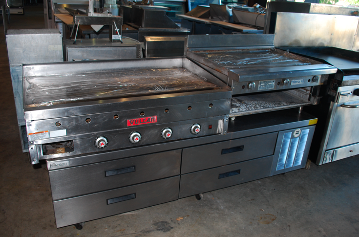 Commercial Griddles For Restaurants ~ Maintaining and replacing a flat griddle one fat frog