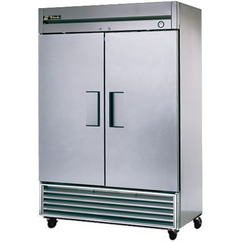 Used Walk In Coolers For Sale >> Used TRUE T49 Double Stainless Steel Door Cooler for Sale ...