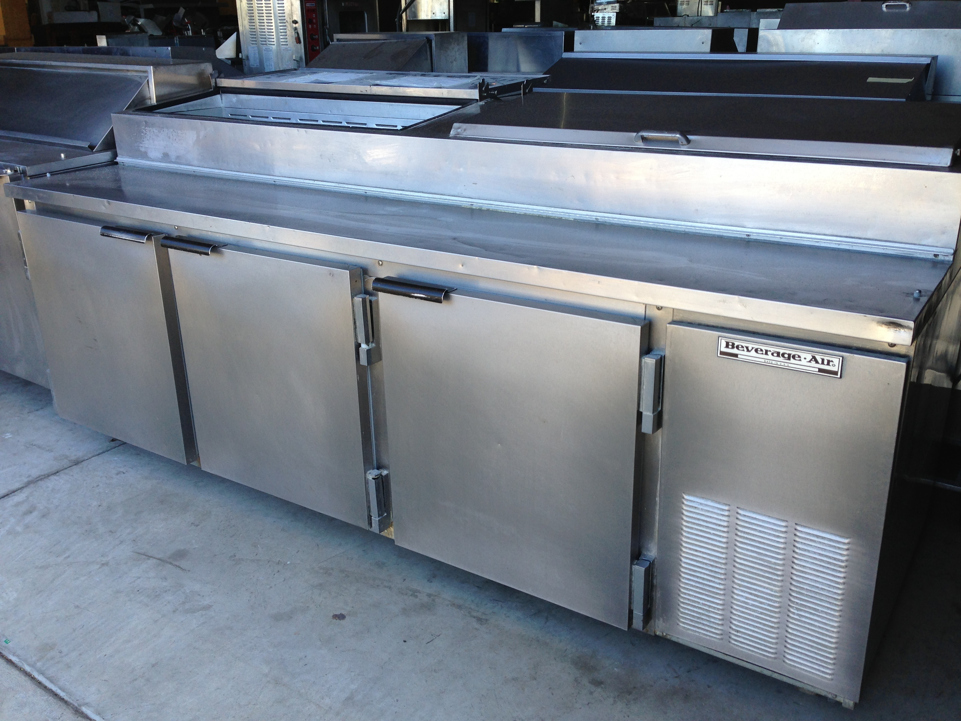 Used Sandwich Prep Table Refrigerated The Science of Sandwich Shop Prep Tables | One Fat Frog