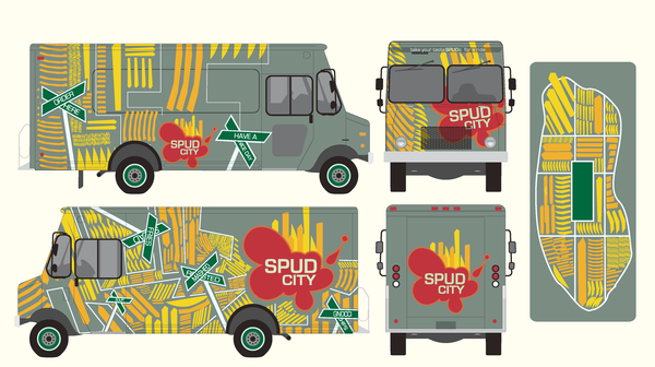 Food Truck Start Up Vinyl Wrapping Vs Paint One Fat Frog
