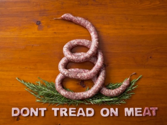 meat art