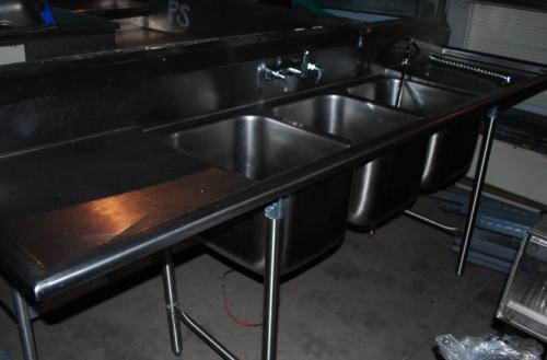 Restaurant Sink : BUYING GUIDE: Restaurant Sinks