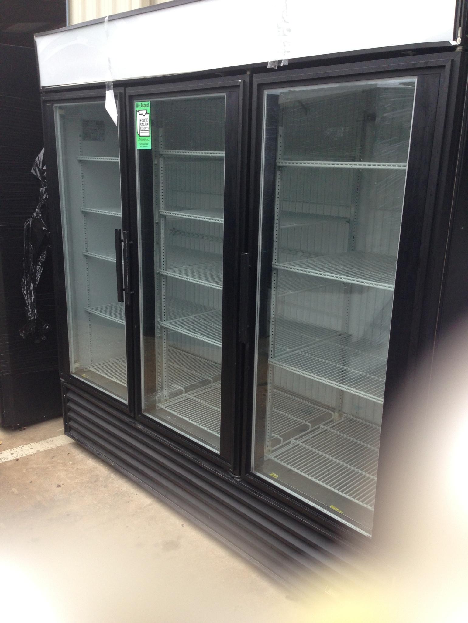 3-Door Freezer
