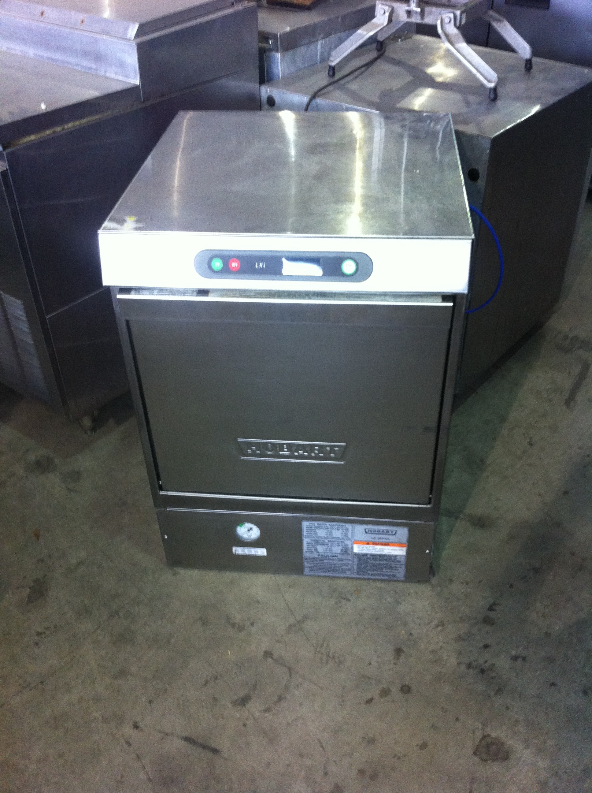 Hobart Lxi Under Counter Dishwasher On Sale Now One Fat