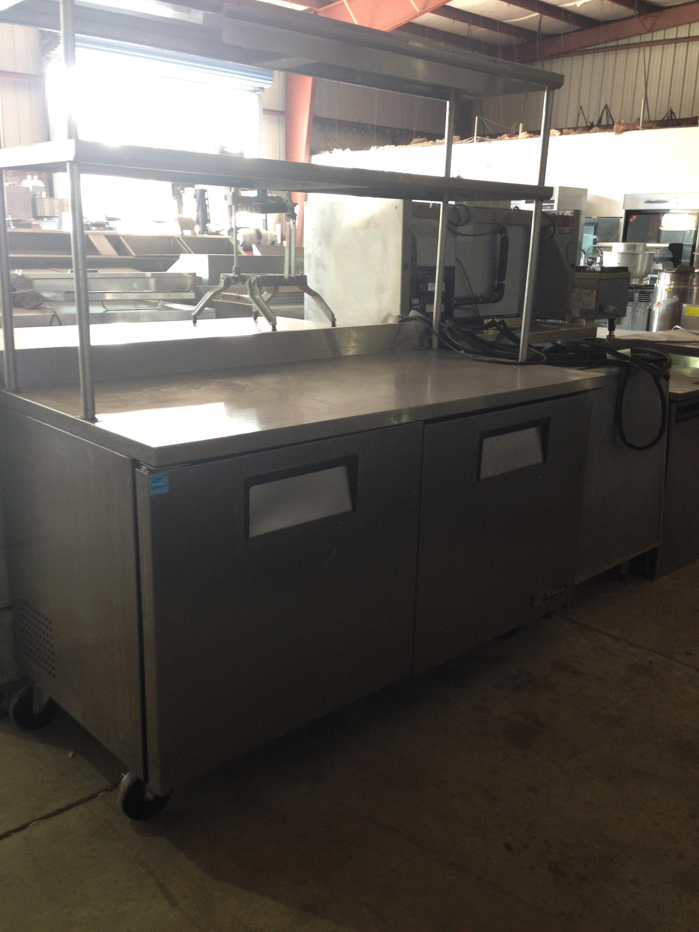 Used Food Truck For Sale >> twt-60 with double overshelf pass thru Expo Line – One Fat Frog