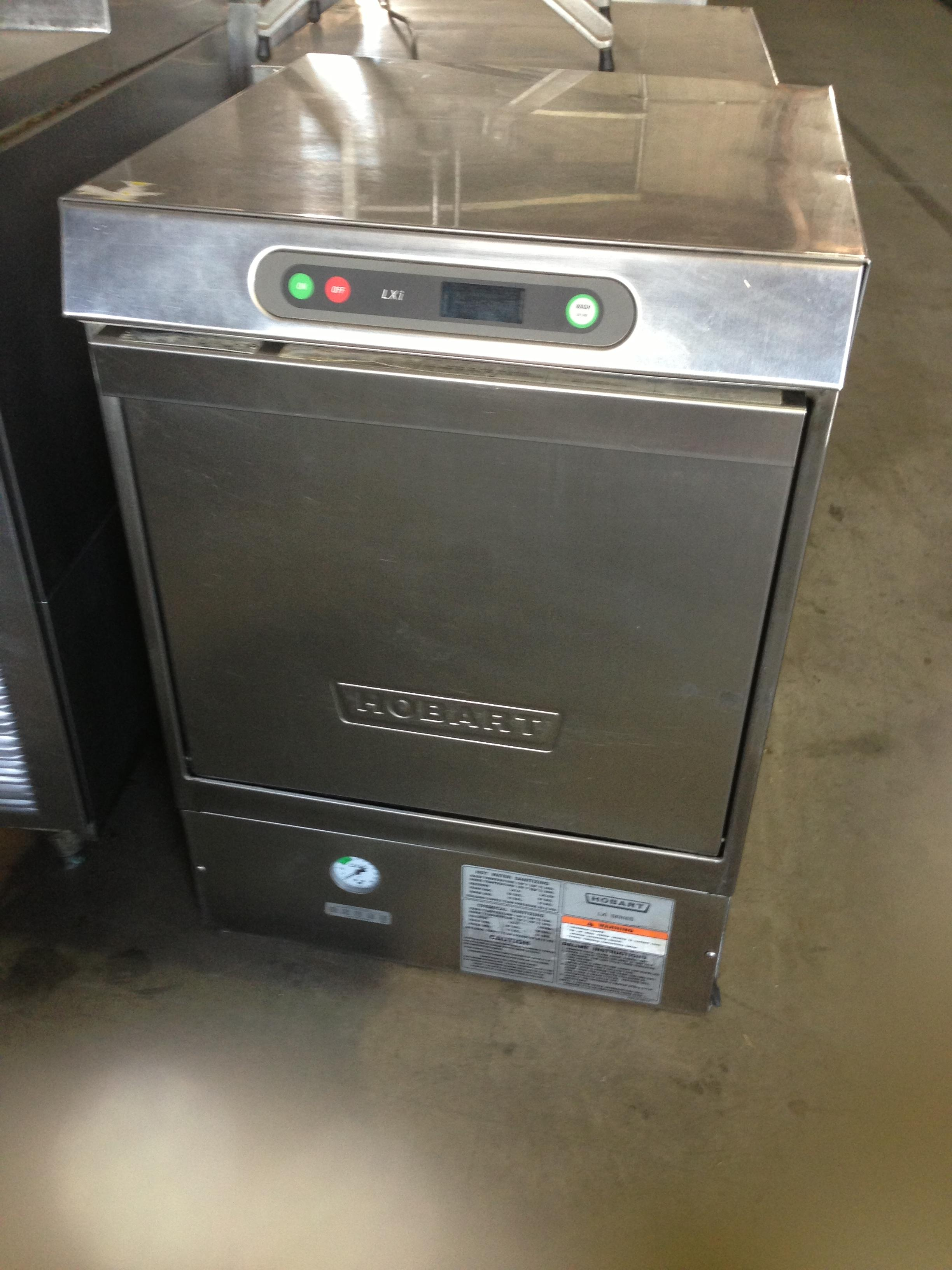 Used Undercounter High Temperature Hobart Dishwasher For
