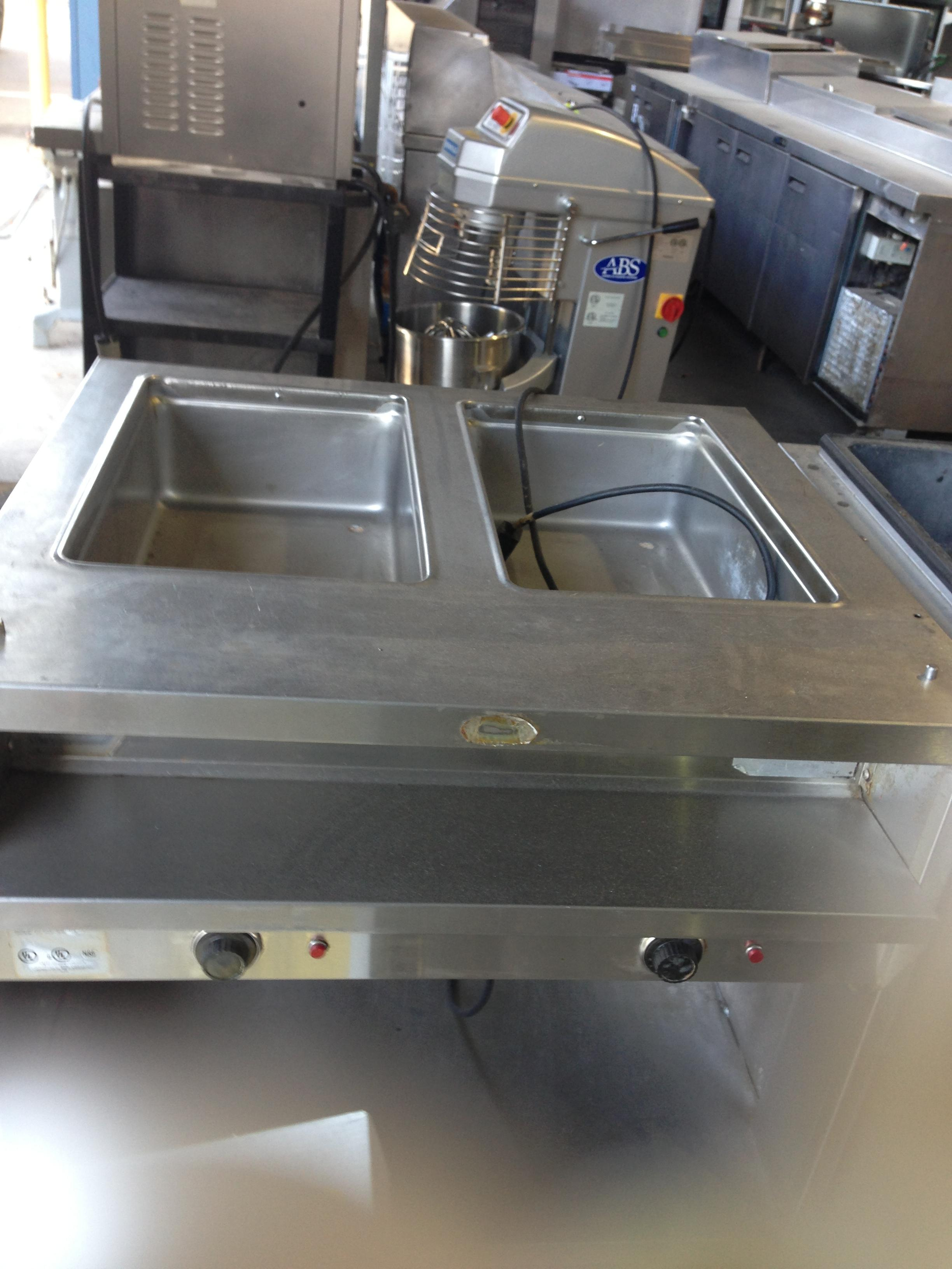 Used To Well Electric Steam Table For Sale One Fat Frog - Restaurant equipment steam table
