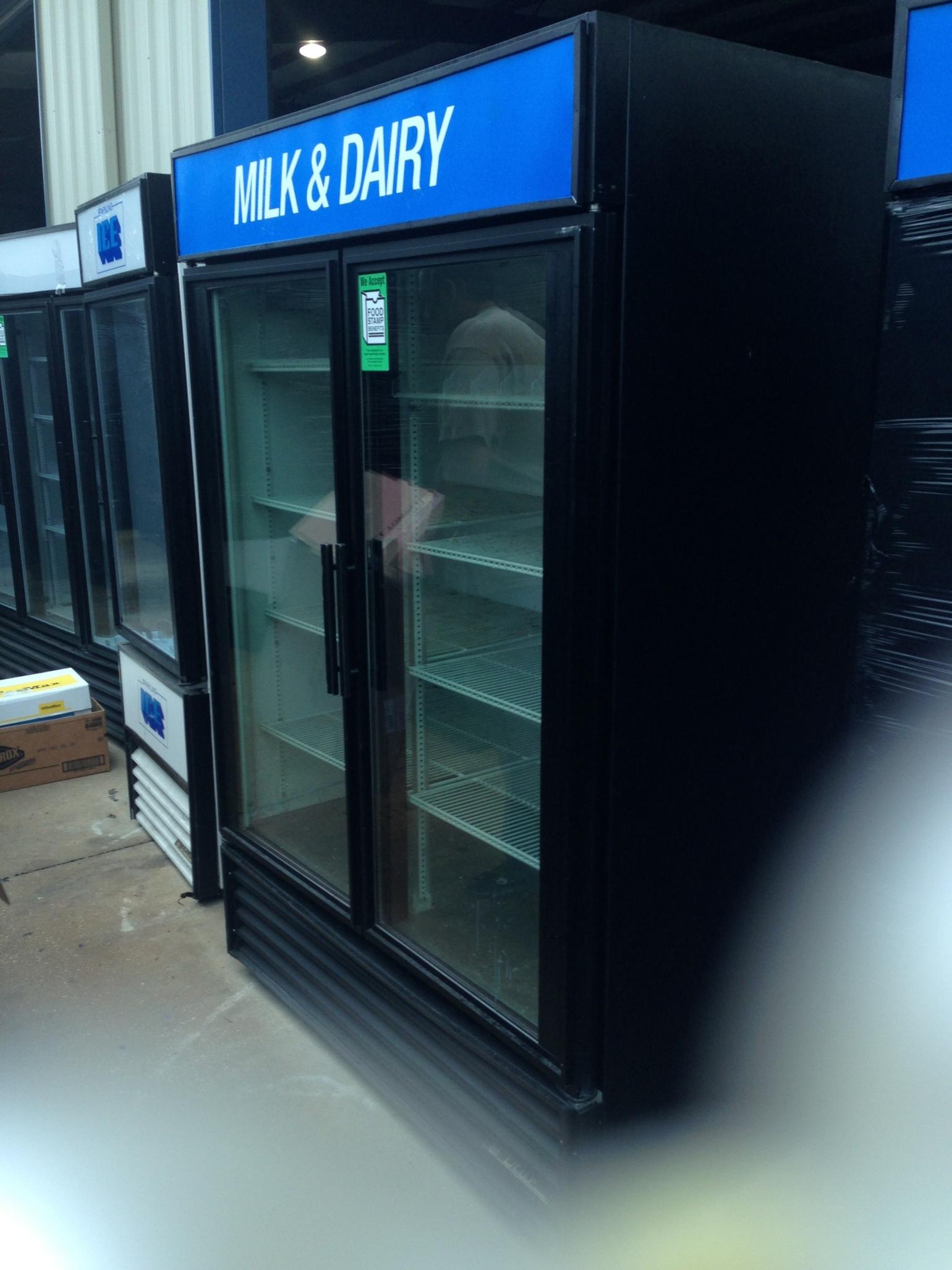 2-door freezers
