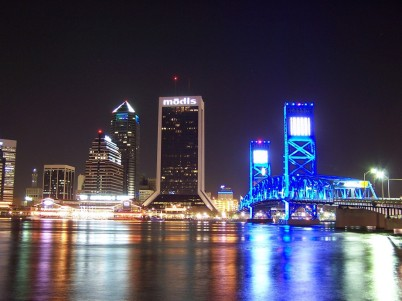 Downtown-Jacksonville-FL-at-night