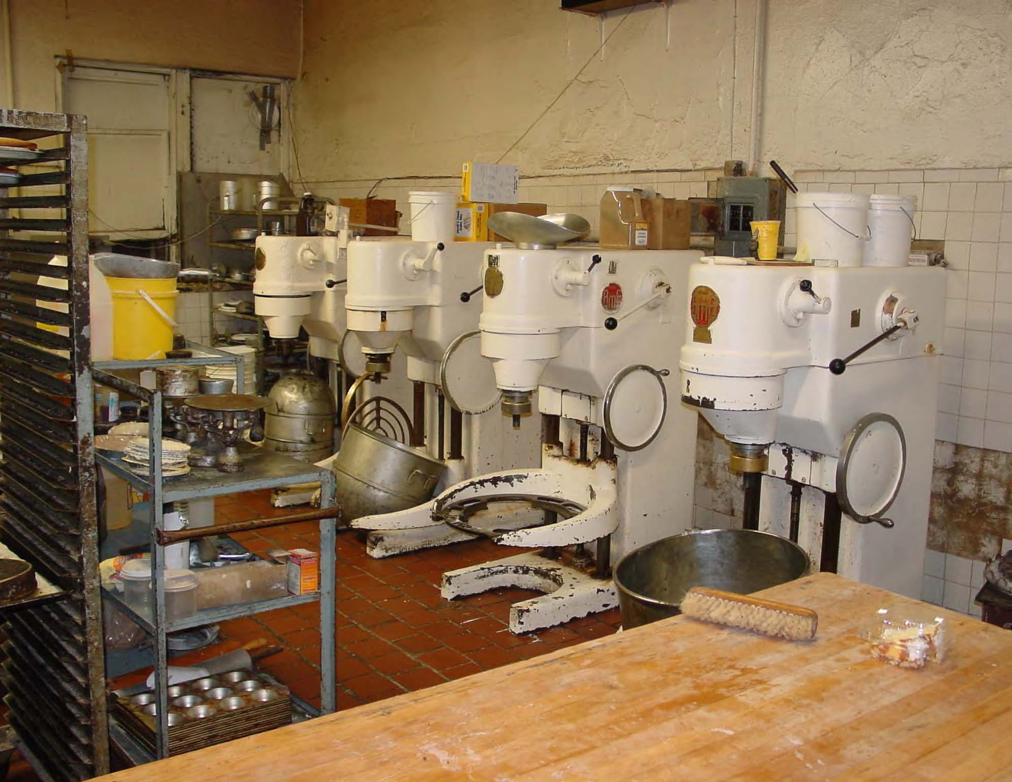 list of equipment needed for wholesale bakery business