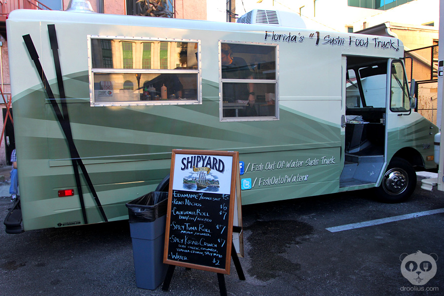 Fish out of water named best food truck in orlando one for Fish out of water restaurant