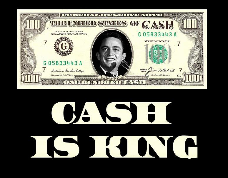 Cash Is King Sale One Fat Frog