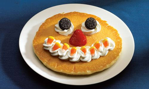 "Starting today, IHOP is bringing back its ""Scary Face"" pancake."