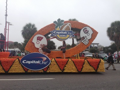 Citrus Bowl Float 1