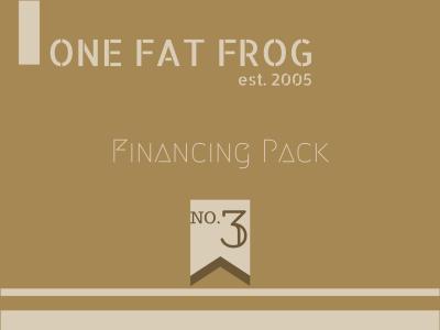 Financing Pack
