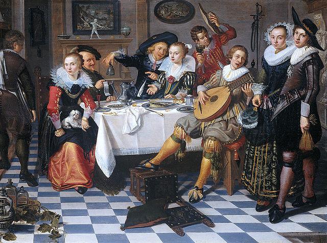 Isaac Elias (fl. circa 1629) [Public domain], via Wikimedia Commons